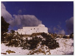 A Winter Scene in February 2004 - The Monastery of Theologos