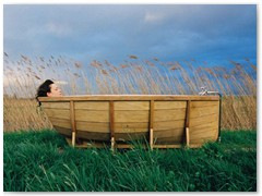 Greek Bath Boat - Please Conserve Our Water!