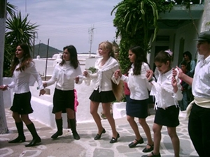 Greek dancing on Amorgos